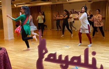 Dansa online med Layali